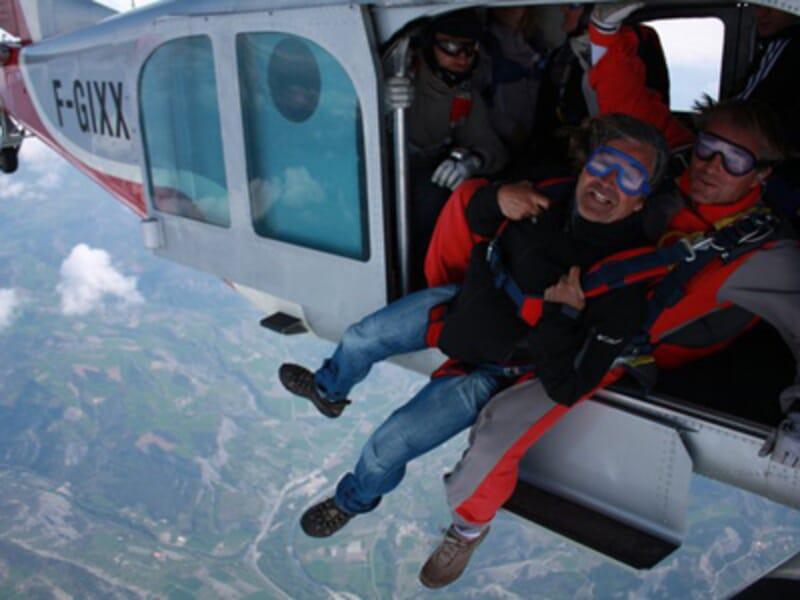 Saut en Parachute en Tandem à Gap